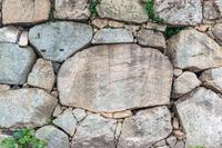 背景素材 萩城石垣