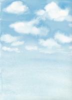 雲のある青空