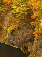 定山渓温泉の晩秋