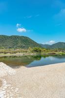 岩国市 錦川の風景
