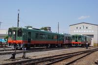 真岡鉄道レールバス気動車(車両基地)