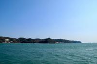 尾ヶ崎ウイングから見た青い海と青い空