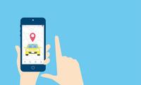 タクシー、配車アプリのイメージ