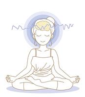 瞑想と脳波・女性