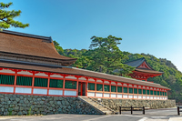 日御碕神社 廻廊風景