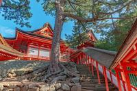 日御碕神社 廻廊と神の宮拝殿