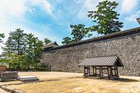 松江城 馬溜跡の井戸跡