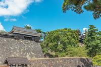 国宝松江城の風景