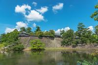 松江城の風景