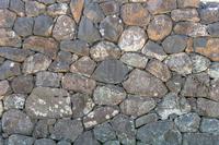 背景素材 松江城石垣