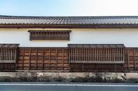 松江市 城下町の風景