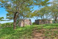 米子城 本丸石垣
