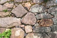 背景素材 米子城石垣