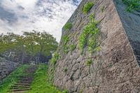 米子城跡の風景