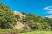 鳥取城 二の丸石垣
