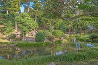 仁風閣 宝隆院庭園の風景