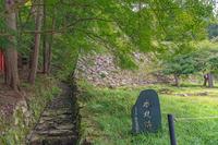出石城 本丸跡の風景