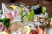 海鮮丼のお刺身