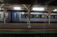 石北本線 留辺蘂駅(車窓から)