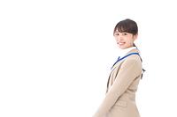 笑顔の若いビジネスウーマン