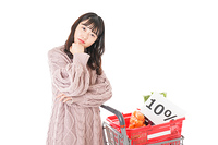 消費税増税・ショッピングイメージ