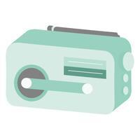 携帯用ラジオのイラスト