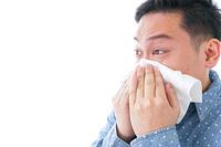 花粉症の男性