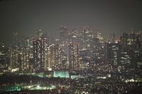 横浜ランドマークタワーから見える夜景