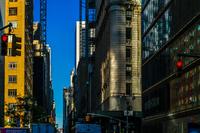 ニューヨーク・マンハッタンの街並み