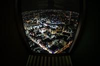 池袋駅の夜景