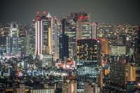 サンシャインシティからの新宿夜景