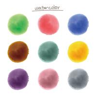 水彩のマル