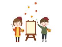 芸術の秋 子供1