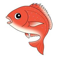 鯛 Red snapper キャラクター イラスト クリップアート