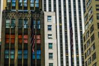ニューヨーク・マンハッタンのビル群