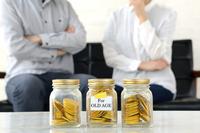 老後のお金について考える夫婦