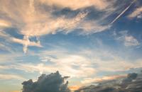 十字架の雲