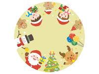 クリスマス フレーム1