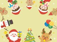 クリスマス フレーム2