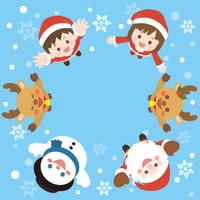 クリスマス フレーム3