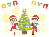クリスマス キッズ2