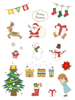 クリスマス 素材集1