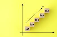 税金アップイメージ