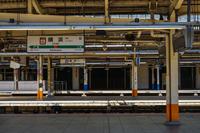 人のいない横浜駅のイメージ