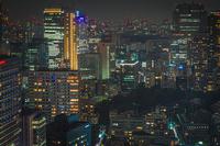 六本木ヒルズから見える東京の夜景