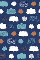 北欧風のシームレスパターン