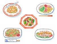 中華料理メニューいろいろ セット