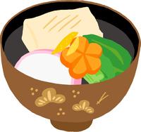 お雑煮 関東風