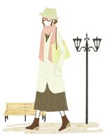 女性-外出-花粉症対策