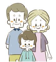 家族-祖父母と孫